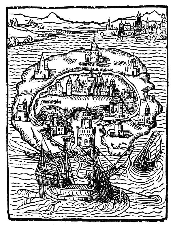 Titelholzschnitt der Ausgabe von 1516
