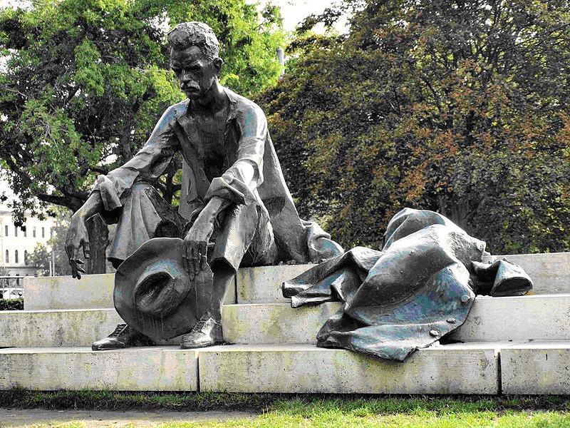 Denkmal Attila Jozsef